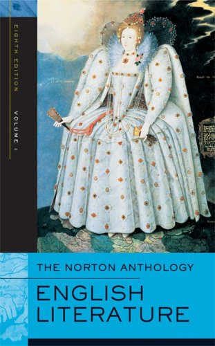 English Literature The Middle Ages Through the Restoration and the Eighteenth Century 8th 2005 edition cover