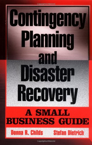 Contingency Planning and Disaster Recovery A Small Business Guide  2003 9780471236139 Front Cover