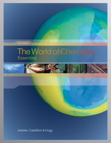 World of Chemistry Essentials 4th 2007 9780495012139 Front Cover
