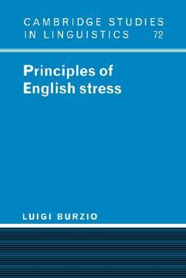Principles of English Stress   1994 9780521445139 Front Cover