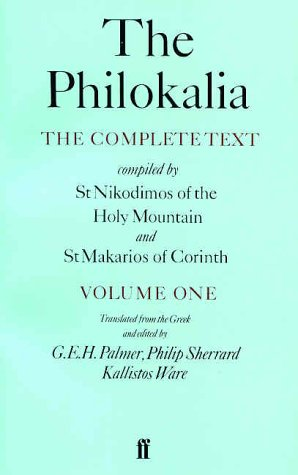 Philokalia The Complete Text Compiled by St. Nikodimos of the Holy Mountain and St. Markarios of Corinth  1979 edition cover