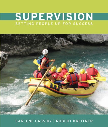 Supervision Setting People up for Success  2010 edition cover