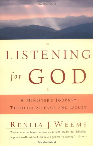 Listening for God A Minister's Journey Through Silence and Doubt  2000 edition cover