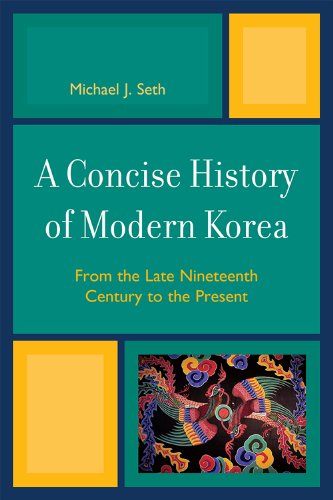 Concise History of Modern Korea From the Late Nineteenth Century to the Present  2009 edition cover