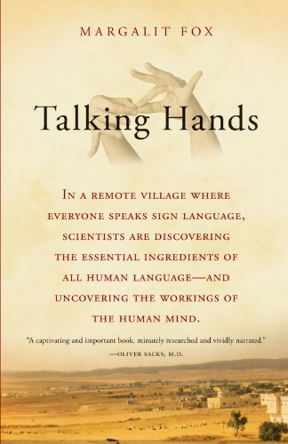 Talking Hands What Sign Language Reveals about the Mind N/A edition cover