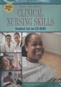 Taylor's Video Guide to Clinical Nursing Skills Student Set on CD-ROM N/A edition cover