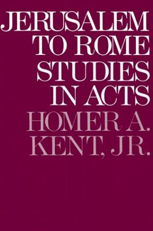 Jerusalem to Rome Studies in the Book of Acts N/A edition cover