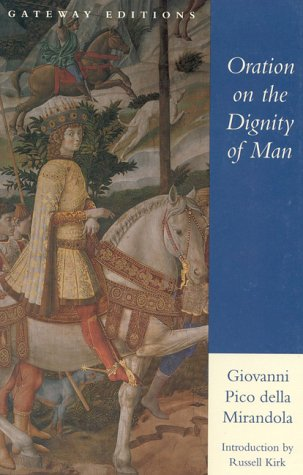 Oration on the Dignity of Man  N/A edition cover