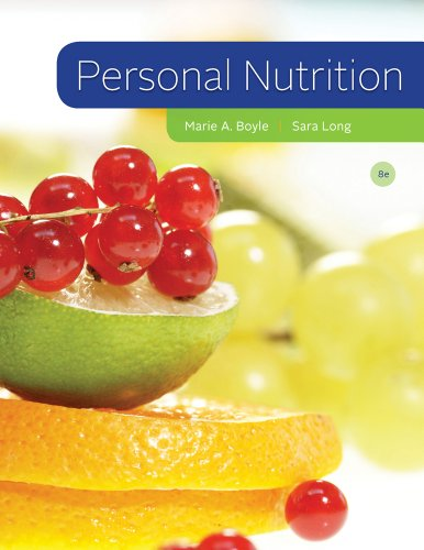 Personal Nutrition  8th 2013 edition cover