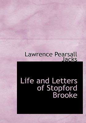 Life and Letters of Stopford Brooke N/A 9781115292139 Front Cover