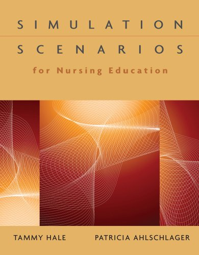 Simulation Scenarios for Nursing Education   2011 edition cover
