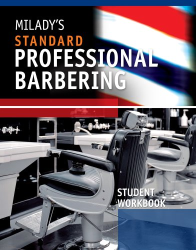 Milady's Standard Professional Barbering  5th 2011 (Student Manual, Study Guide, etc.) edition cover