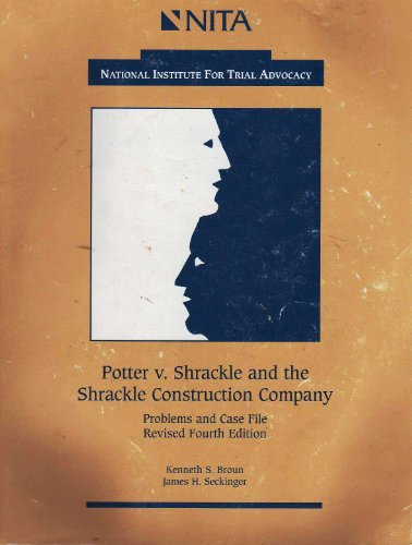 Potter vs. Shrackle : Wrongful Death 4th (Revised) edition cover