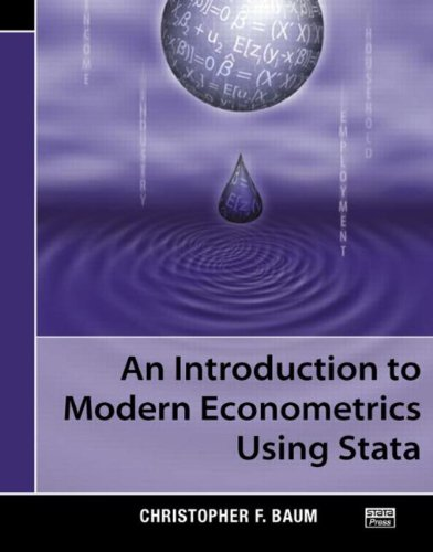 Introduction to Modern Econometrics Using Stata   2006 edition cover