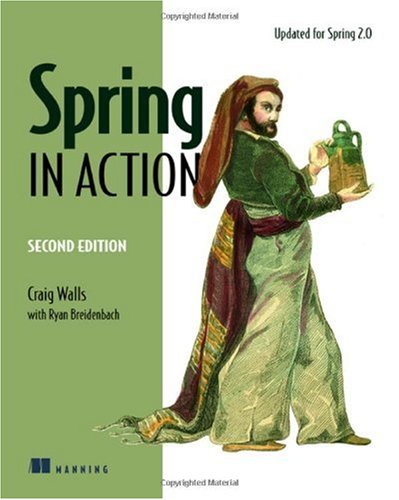 Spring in Action  2nd 2007 edition cover