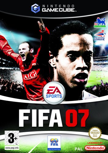 FIFA 07 (GameCube) GameCube artwork