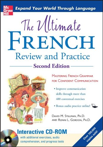 Ultimate French Mastering French Grammar for Confident Communication 2nd 2011 edition cover