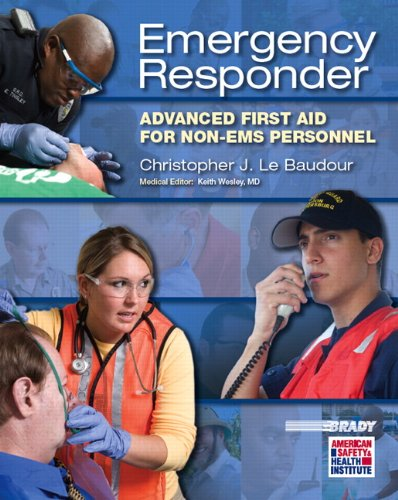 Emergency Responder Advanced First Aid for Non-EMS Personnel  2012 edition cover