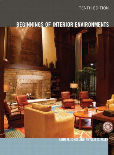 Beginnings of Interior Environments  10th 2009 edition cover