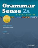 Grammar Sense 2A  2nd (Student Manual, Study Guide, etc.) edition cover