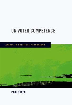 On Voter Competence   2012 9780195396140 Front Cover