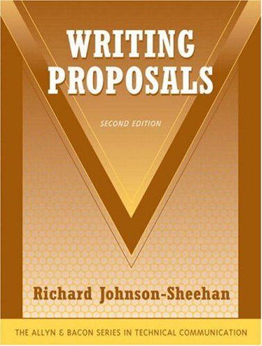 Writing Proposals  2nd 2008 edition cover