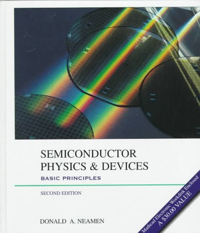 Semiconductor Physics and Devices Basic Principles 2nd 1997 9780256242140 Front Cover