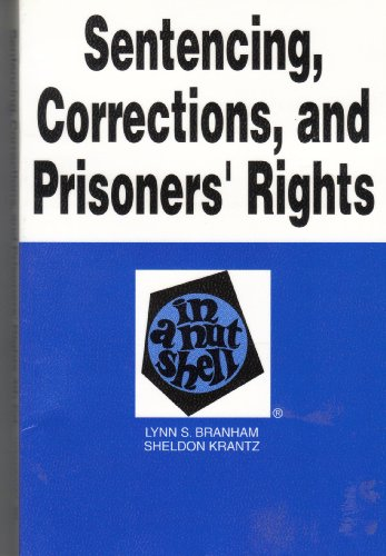 Corrections and Prisoners' Rights in a Nutshell 4th 1994 9780314045140 Front Cover