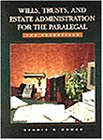 Wills, Trusts, and Estate Administration for the Paralegal The Essentials 4th 1996 9780314061140 Front Cover