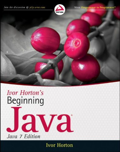 Beginning Java  7th 2011 edition cover
