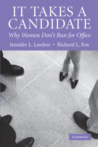 It Takes a Candidate Why Women Don't Run for Office  2005 edition cover