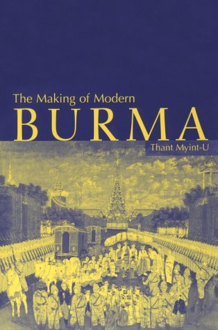 Making of Modern Burma   2001 edition cover