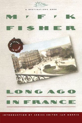 Long Ago in France The Years in Dijon  1992 edition cover
