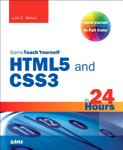 HTML and Css in 24 Hours  9th 2014 (Revised) edition cover