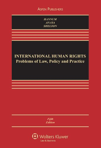 International Human Rights Problems of Law, Policy and Practice 5th 2011 (Revised) edition cover