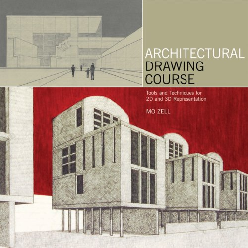 Architectural Drawing Course Tools and Techniques for 2D and 3D Representation  2008 edition cover