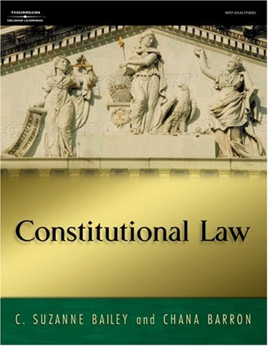 Constitutional Law   2006 edition cover