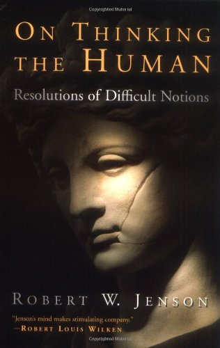 On Thinking the Human Resolutions of Diffcult Notions  2003 edition cover