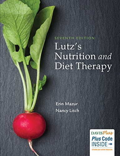 Lutz's Nutrition and Diet Therapy  7th 2019 (Revised) 9780803668140 Front Cover