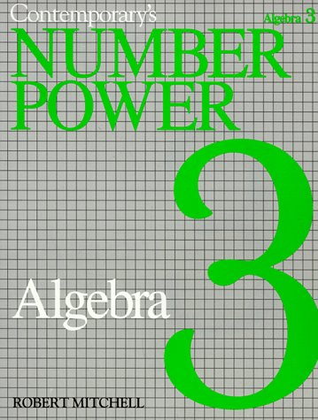 Number Power 3 : Algebra: The Real World of Adult Math 1st edition cover
