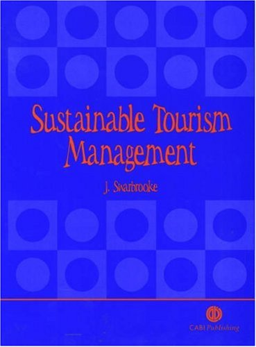 Sustainable Tourism Management   1999 edition cover