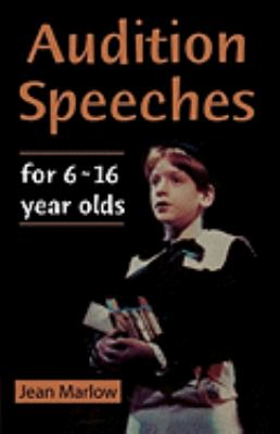Audition Speeches for Young Actors 16+   2000 9780878301140 Front Cover