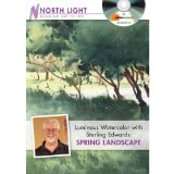 Luminous Watercolor With Sterling Edwards: Spring Landscape  2012 edition cover