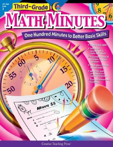 Math Minutes Grade 3  2002 edition cover