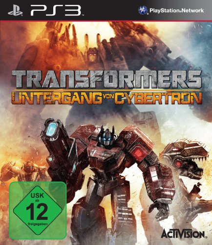 TRANSFORMERS - UNTERGANG VON PlayStation 3 artwork