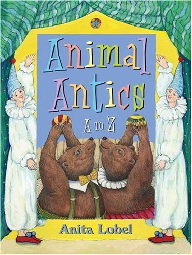 Animal Antics A to Z  2005 9780060518141 Front Cover