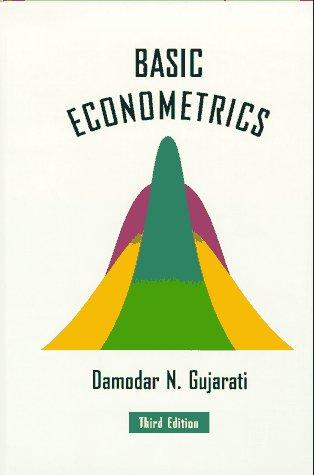 Basic Econometrics 3rd 1995 9780070252141 Front Cover