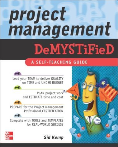 Project Management Demystified   2004 edition cover