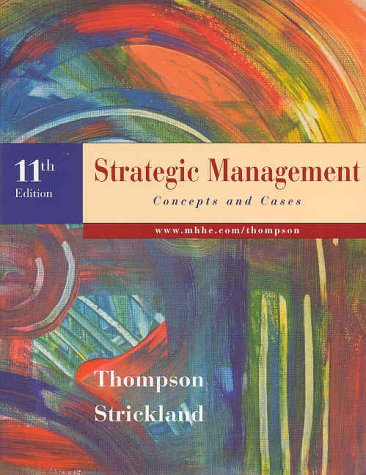 Strategic Management 11th 1999 edition cover