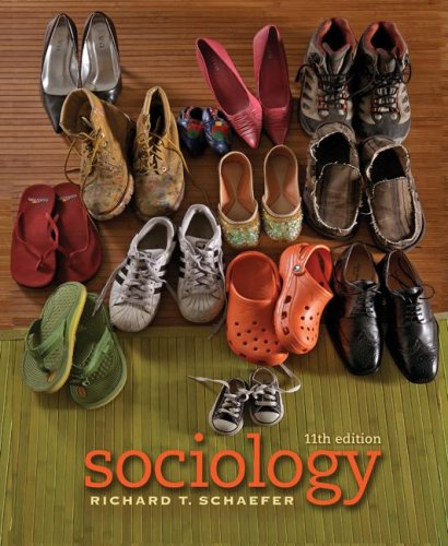 Sociology  11th 2008 edition cover